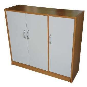 บริการประกอบส่งให้ ตู้รองเท้า4ชั้น-3บาน รุ่น Shoes90-3D Shoe cabinet 4 layers-3 doors Essembled-