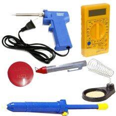 ซื้อ Nke ชุดเครื่องมือช่างอิเล็คทรอนิกส์ หัวแร้ง ที่วาง ตะกั่ว น้ำยาประสานบัดกรี ดิจิตอลมัลติมิเตอร์ ที่ดูดตะกั่ว