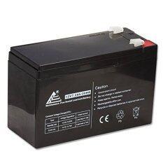 ราคา Nke แบตเตอรี่12 Volt 7 2 Ah Rechargeable Battery With F2 Terminals Black ราคาถูกที่สุด
