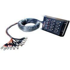 NKE AUDIO ROXTONE สายมัลติคอร์12 Channel XLR SNAKE CABLE ยาว15เมตร