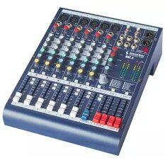 NKE AUDIO สเตอริโอมิกเซอร์ 6ช่อง เอฟเฟ็กแท้ 16 โปรแกรม Sound Best  MIXERMGP 6