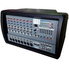 NKE เครื่องขยายเสียง เพาเวอร์มิกเซอร์ 8CH 600WATT  Bluetooth USB MP3 รุ่น Proeuro Tech PMX-9000FX