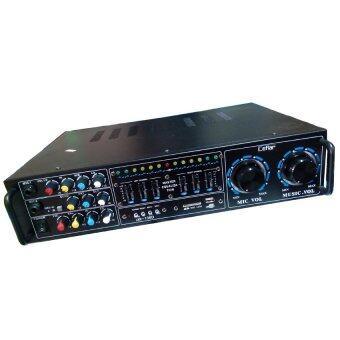 NKE เครื่องขยายเสียงคาราโอเกะAC/DC USB MP3 SDCARD (Black)