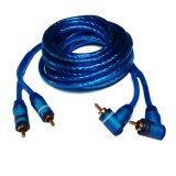 ซื้อ Nke สายสัญญาณเสียง ภาพ 4เมตร Rca 4 หัวรถยนต์ 7 มิล Hifi Car Audio Video Cable ถูก