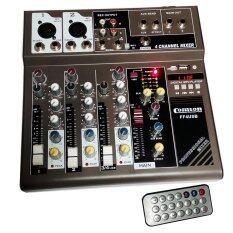 ขาย Nke สเตอริโอมิกเซอร์ 4 ช่อง ผสมสัญญาณเสียง รุ่น Comson Ff4Usb Mp3 ถูก Thailand