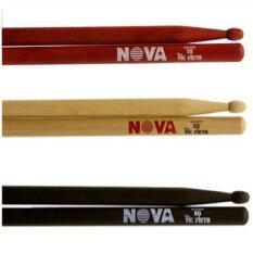 โปรโมชั่น Nova 5B Drum Stick Red ไม้กลองชุด ใน กรุงเทพมหานคร