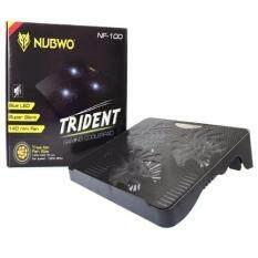 ขาย Nubwo Gaming Coolerpad พัดลมรองโน๊ตบุ๊ค 3ใบพัดใหญ่ รุ่น Nf 100 สีดำ Black Nubwo ออนไลน์