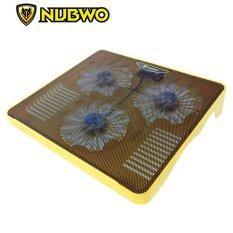ราคา Nubwo Gaming Coolerpad พัดลมรองโน๊ตบุ๊ค รุ่น Nf 100 สีเหลือง Nubwo ไทย