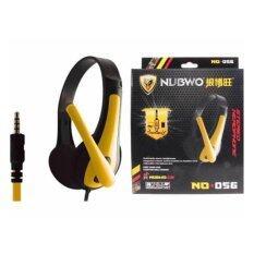 โปรโมชั่น Nubwo หูฟังพร้อมไมค์ Gaming Headset ใช้กับโทรศัพท์และคอมพิวเตอร์ รุ่น No 056 สีเหลือง Nubwo