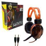 ซื้อ Nubwo หูฟังพร้อมไมค์ No A6 สีส้ม ถูก ใน กรุงเทพมหานคร