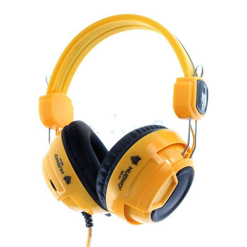 ข้อดีและข้อเสีย NUBWO NO.1 NUBWO หูฟัง Headset 'NUBWO' No-V1 (Yellow) ซื้อเว็บไหนดี