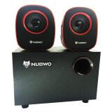 ราคา Nubwo Usb Speaker 2 1 Mean Machine Ns 030 ลำโพง Red ออนไลน์
