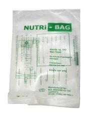 ราคา Nutri Bag ถุงอาหาร ถุงให้อาหารผู้ป่วยทางสายยาง 20 ใบ Mak ไทย
