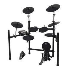 ราคา Nux Digital Drum Kit กลองไฟฟ้า รุ่น Dm 5 Black ราคาถูกที่สุด