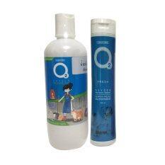 O2 Shampoo Fresh Blue 200 Ml Cleaner 500 Ml แชมพูโอทู ป้องกันเห็บหมัดด้วยธรรมชาติ และน้ำยาอเนกประสงค์ ไม่เป็นอันตรายต่อสัตว์เลี้ยง ใน กรุงเทพมหานคร