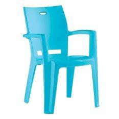 Oa Furniture เก้าอี้พลาสติก Idea รุ่น Denver (สีฟ้า).