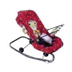 ราคา Oa Furniture เปลโยกเด็กขนาดใหญ่ มีมุ้งกันยุง รุ่น Bc206 สีแดง ราคาถูกที่สุด