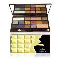 ขาย Odbo พาเลทแต่งหน้า Eyeshadow Chocolate Color Make Up Od211 No 02 ผู้ค้าส่ง