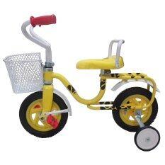 โปรโมชั่น จักรยานถีบล้อหน้า ขนาด 8 สีเหลือง ใน กรุงเทพมหานคร