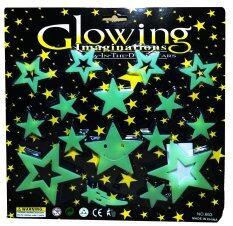 แผ่นติดผนังหรือเพดานเรืองแสงสำหรับเด็ก ดาวจรัสแสงในจักวาล Glow In The Dark Sticker For Kids Shinny Star In Universe.