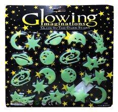 แผ่นติดผนังหรือเพดานเรืองแสงสำหรับเด็ก หมู่ดาวแห่งจักรวาล Glow In The Dark Sticker For Kids Star In The Universe.