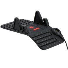 แท่นวางโทรศัพท์ในรถ พร้อมสายแม่เหล็ก Car Holder Flexible Black เป็นต้นฉบับ