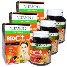 โปรโมชั่น Bio C Vitamin Alpha Zinc 1 500 Mg ไบโอ ซี วิตามิน ขนาด 30 เม็ด 3 กล่อง กรุงเทพมหานคร