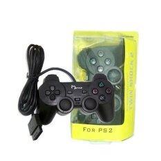 จอย สำหรับ Playstation 2 รุ่น JOY-004 (สีดำ)