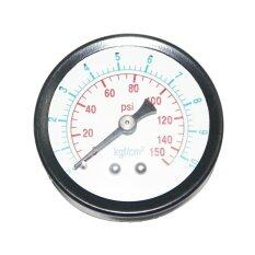 ซื้อ เกจวัดแรงดันลม ตัวเรือนเหล็กดำ 2 นิ้ว เกลียวออกหลังทองเหลือง 1 8 นิ้ว ย่านการวัด 10 Kg Pressure Gauge Unbranded Generic ถูก