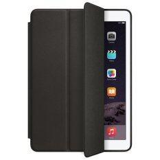 เคสไอแพด แอร์2 รุ่น Ultra slim PU Leather Flip Smart Stand Case For Apple iPad Air2 (Black)
