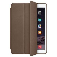 เคสไอแพด แอร์2 รุ่น Ultra slim PU Leather Flip Smart Stand Case For Apple iPad Air2 (Dark Brown)