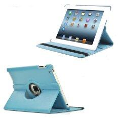 """เคสไอแพดมินิ 1/2/3 รุ่น""""หมุน360องศา"""" For Apple iPad mini 1/2/3 360 degree rotating (Light Blue)"""