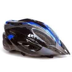 โปรโมชั่น หมวกจักรยาน Macanic V 101 สีดำ น้ำเงิน Unbranded Generic
