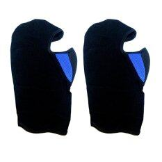 ส่วนลด หน้ากากไอ้โม่ง แบบมีผ้ากรอง สีน้ำเงิน แพ็ค 2 ชิ้น Unbranded Generic ใน กรุงเทพมหานคร