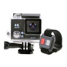 กล้องกันน้ำ ถ่ายใต้น้ำ พร้อมรีโมทกันน้ำ Sport camera Action camera 4K Ultra HD waterproof WIFI + Remote