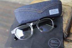 ขาย กรอบแว่นตาวินเทจ 8 Glasses Vintage Eyeware รุ่น Depp ดำ ใส พร้อม กล่องแว่นตา ผ้าเช็ดเลนส์ Unbranded Generic ใน กรุงเทพมหานคร