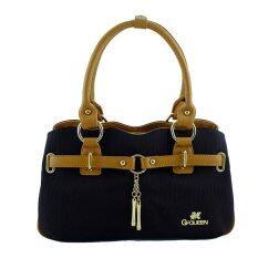 กระเป๋าผ้าแคนวาส Peacebag รุ่น 1390225 สีดำ Thailand