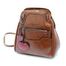ซื้อ กระเป๋าสะพายนำเข้า สไตล์ Bean Pole เกาหลี ทำเป็นเป้หรือสะพายได้ สีน้ำตาล ถูก Thailand