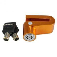 ขาย ซื้อ กุญแจล๊อคจานดิสเบรด สำหรับมอเตอร์ไซค์ทุกรุ่น สีทอง