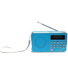 ซื้อ ลำโพงวิทยุ ลำโพง Mp3 รุ่นT 205 สีฟ้า Unbranded Generic เป็นต้นฉบับ