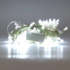 ส่วนลด Led Christmas Light White Light ไม่กระพริบ Unbranded Generic ใน Thailand