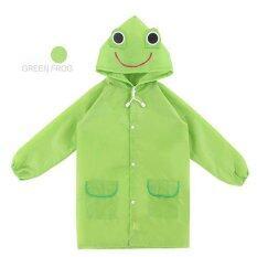 ทบทวน Mamon Shop เสื้อกันฝนเด็ก Funny Rain Coat กบสีเขียว Unbranded Generic