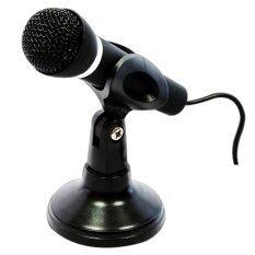 ราคา Microphone Desktop Pc ไมโครโฟน Black Unbranded Generic