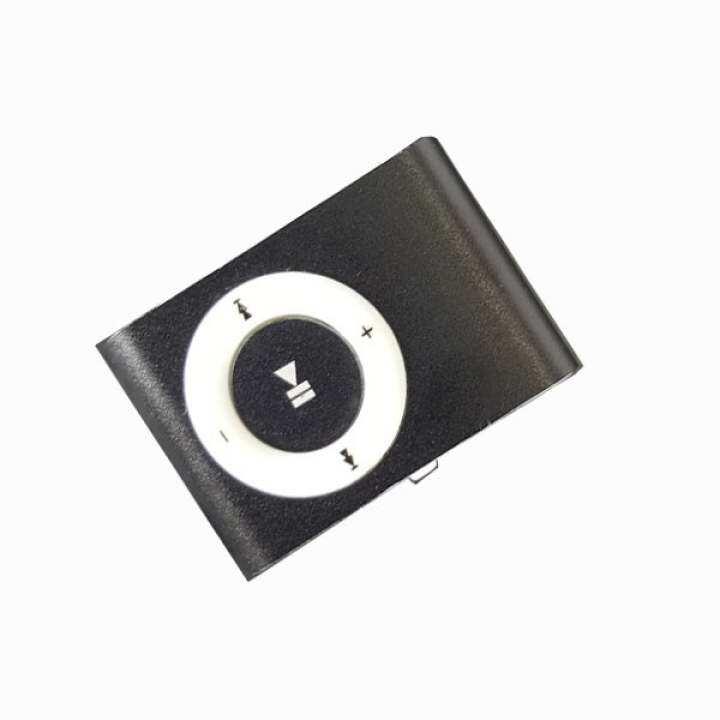 รีวิว Mini Clip Metal USB MP3 Music Player Portable Sport Media Player (Black)