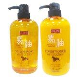 ราคา M S One Horse Oil Conditioner Shampoo แชมพู ครีมนวดสกัดจากน้ำมันม้าบริสุทธิ์ 600 Ml Unbranded Generic ใหม่