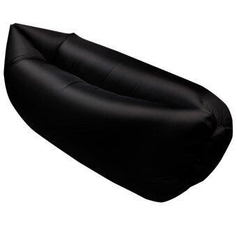 โซฟาถุงลม โซฟานอนกลางแจ้ง - สีดำ