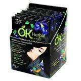 ขาย ซื้อ Ok Herbal Shampoo Color Careแชมพูปิดผมขาวโอเคเฮอเบิล สีดำ 1กล่อง บรรจุ12ซอง ราคาสุดพิเศษ