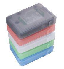 ขาย Plastic Hard Disk Protective Case With Label 5 Box 3 5 Gray Green Red White Cyan เป็นต้นฉบับ