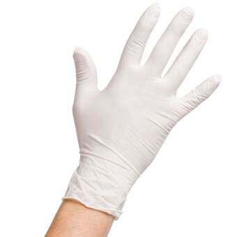 Pro Gloves ถุงมือยาง อเนกประสงค์ ชนิดใช้ครั้งเดียว Size S 1กล่อง (100ชิ้น)-