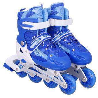 รองเท้าสเก็ต โรลเลอร์สเกต (สีน้ำเงิน) s